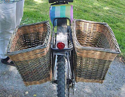 Katherine's bike baskets