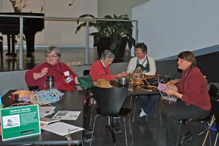 Northwest Basket Weavers Guild members