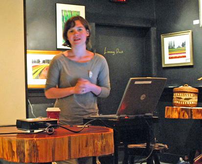 Monica Miller of Artist Trust