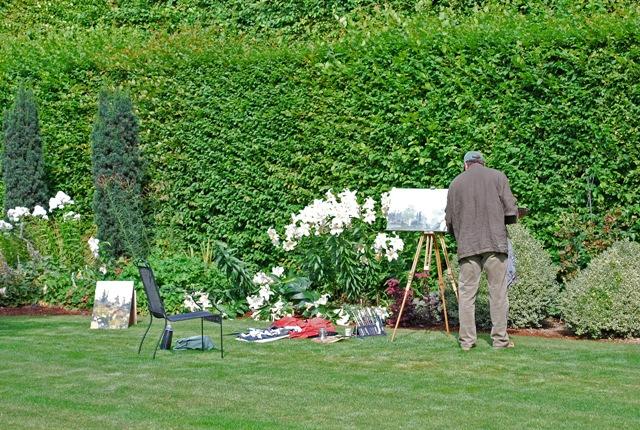 Painter Tom Pickett