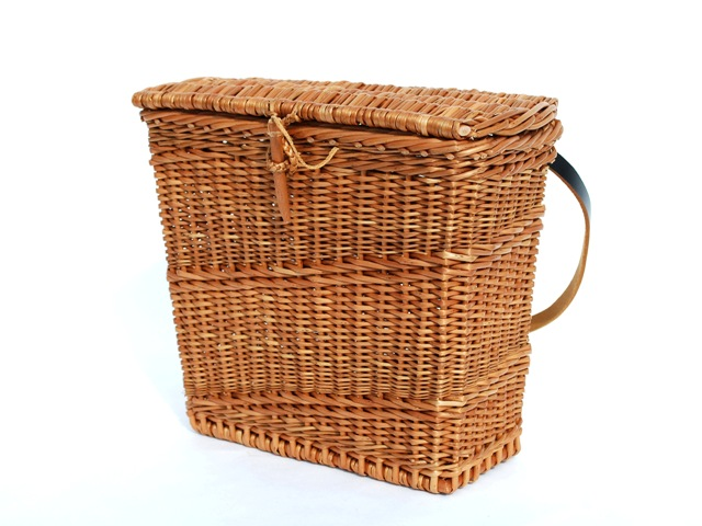 willow basket purse