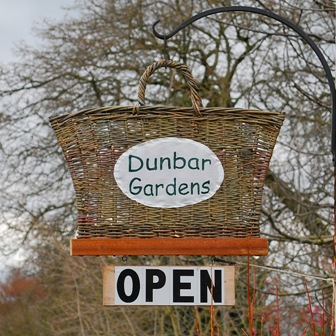 Dunbar Gardens sign