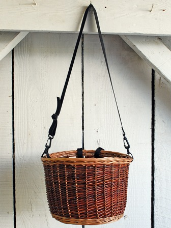 willow bike basket and straps