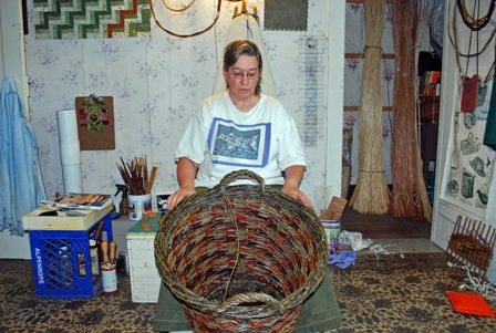 Katherine Lewis, Skagit Valley willow basketmaker