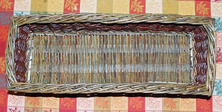 willow kitchen basket