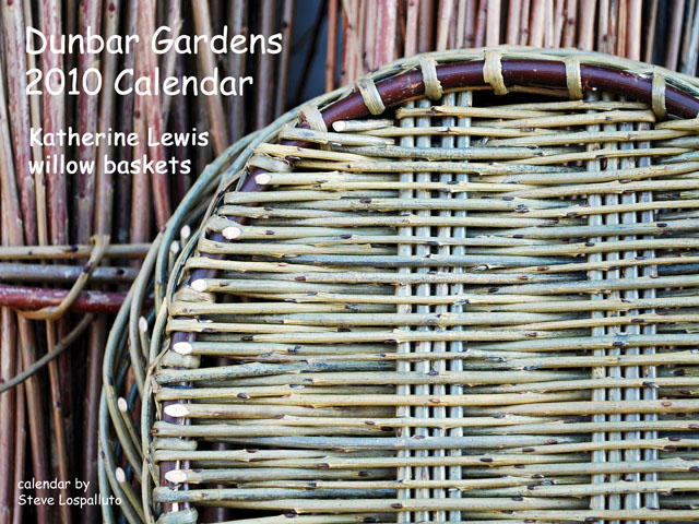 2010 Dunbar Gardens calendar cover
