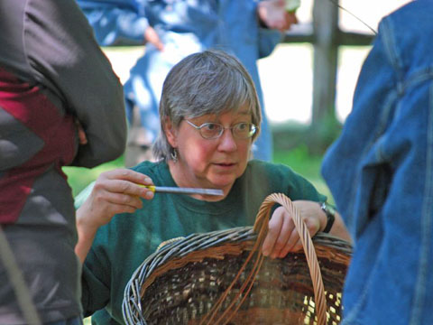Katherine lewis, willow basketry teacher
