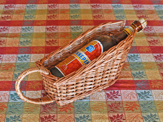 willow bottle basket