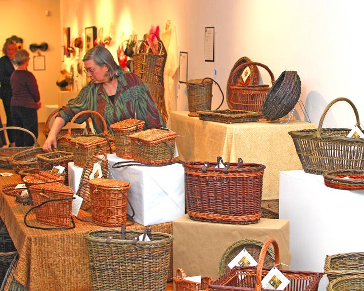 Basketmaker Katherine Lewis