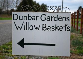 Dunbar Gardens sign