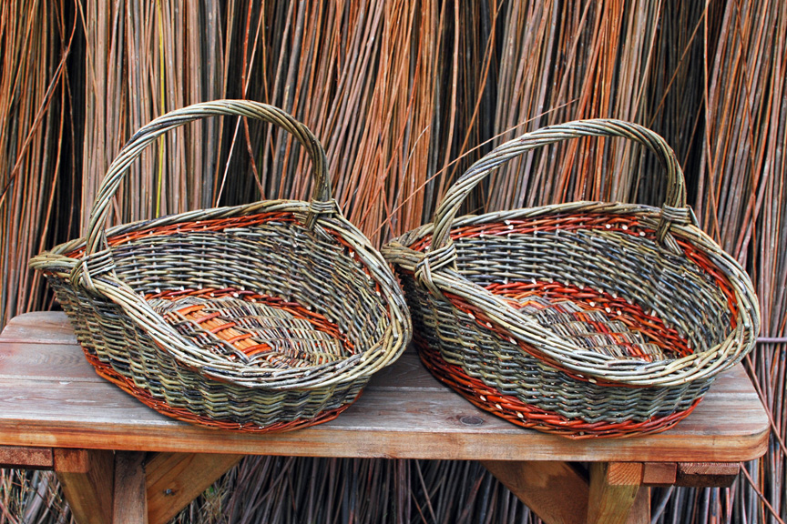 willow garden baskets