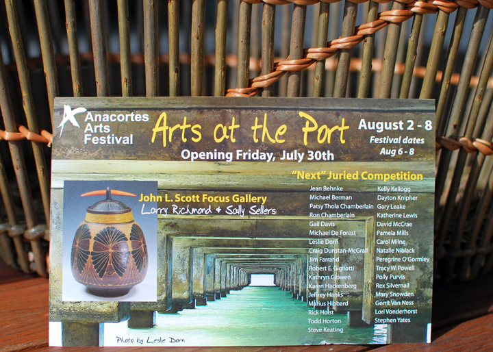 Arts at the Port postcard