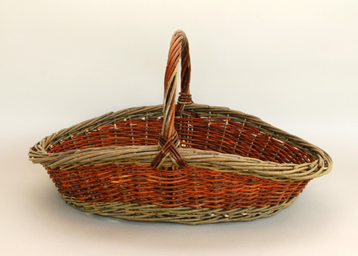 willow flower gathering basket