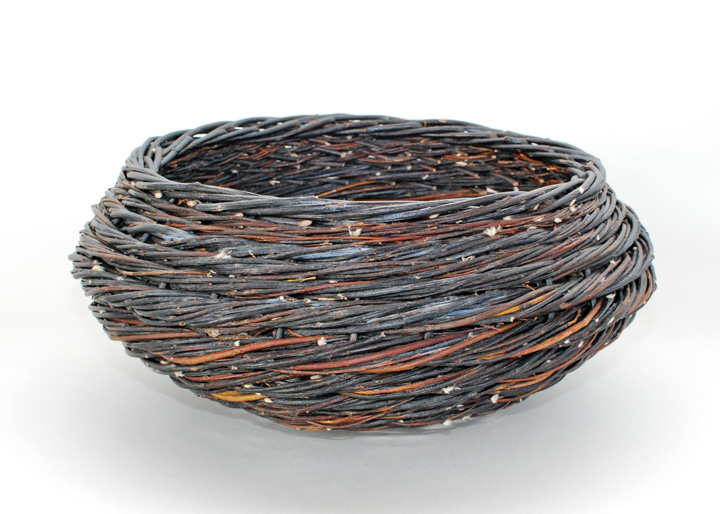 blue willow rope coil