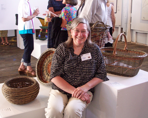 Katherine Lewis, willow basketmaker