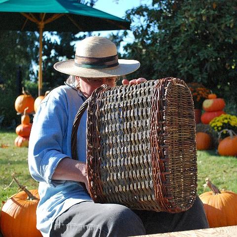 Katherine Lewis willow basketmaker