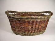 oval laundry basket