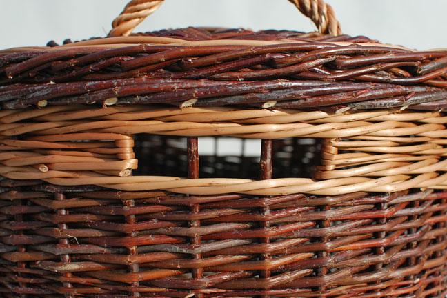 sock basket inset handle