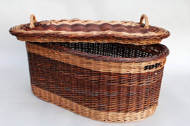 sock basket with lid