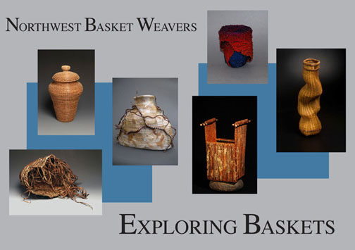 Exploring Baskets postcard