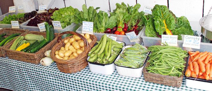 Dunbar Gardens farmstand produce