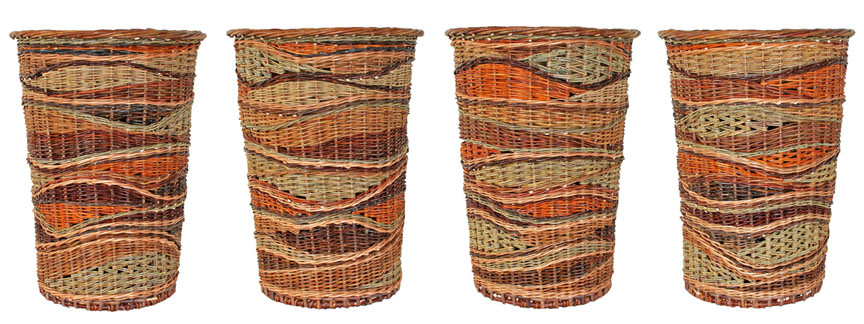Strata basket by Katherine Lewis