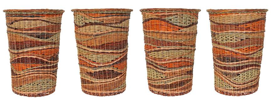 Strata basket by Katherine Lewis