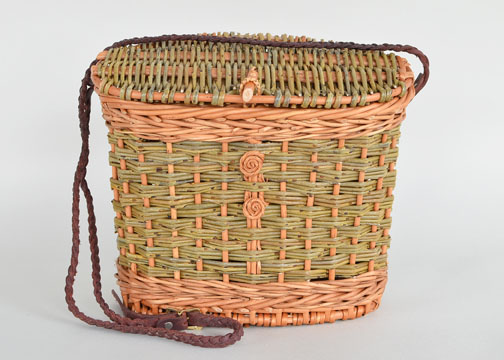 willow knot purse by Katherine Lewis