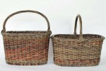 scallomed baskets by Katherine Lewis