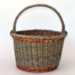 willow gathering basket by Katherine Lewis