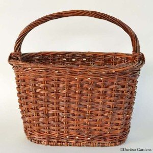 willow magazine basket