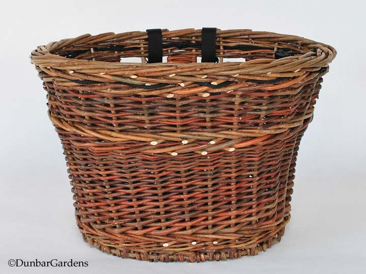 Bicycle handlebar basket by Katherine Lewis. Cole-Ware Collection