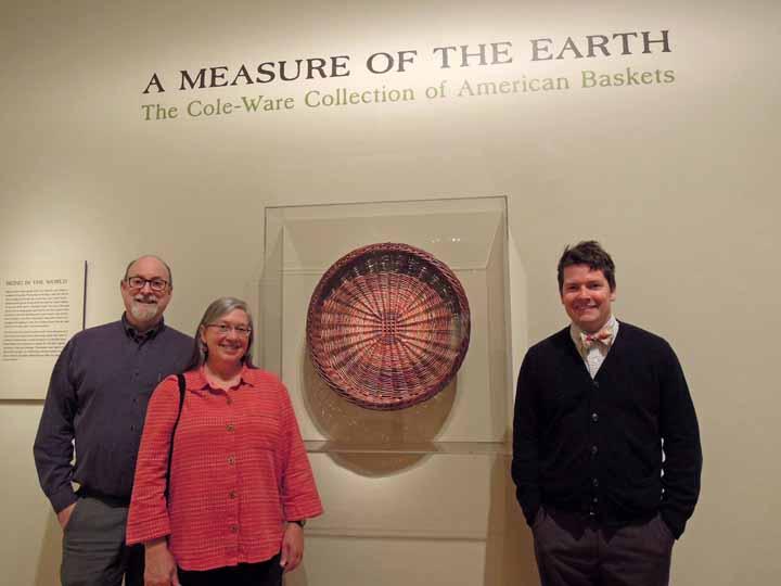 Steve Cole, Katherine Lewis, Nicholas Bell at Renwick Gallery