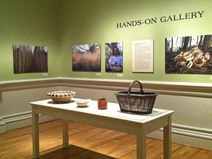 Hands-on exhibit at the Renwick Gallery