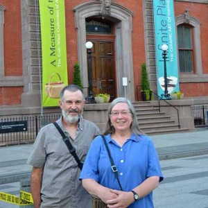 Lewis and Lospalluto at the Renwick Gallery