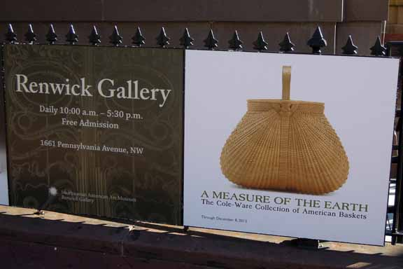 Renwick Gallery sign