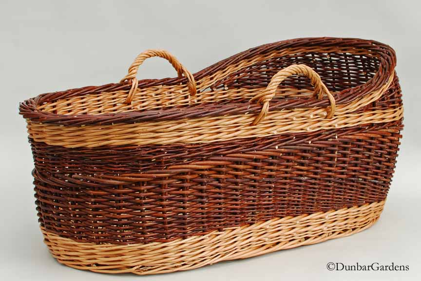 willow bassinet made by Katherine Lewis