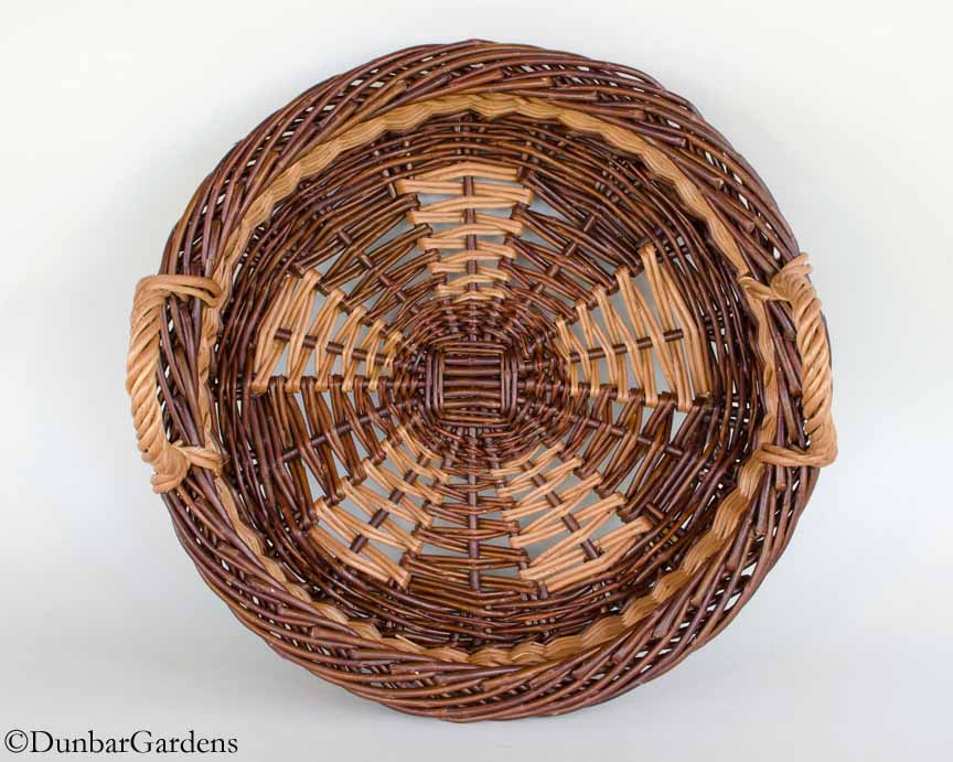 Pi(e) willow basket by Katherine Lewis
