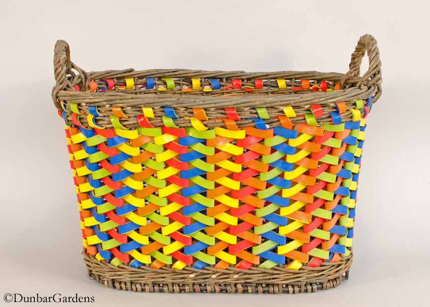 Slingshot - willow and rubber basket by Katherine Lewis