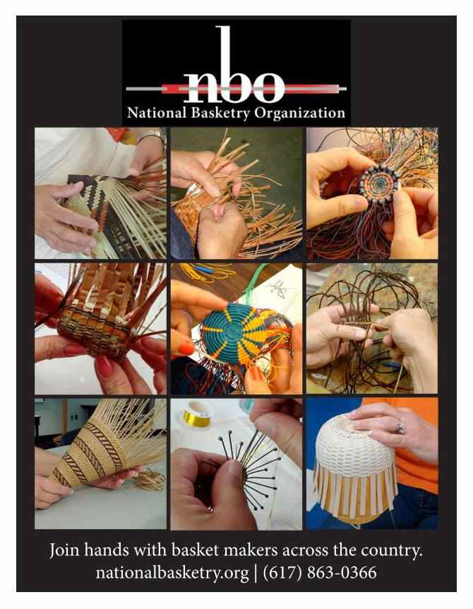 National Basketry Organization brochure