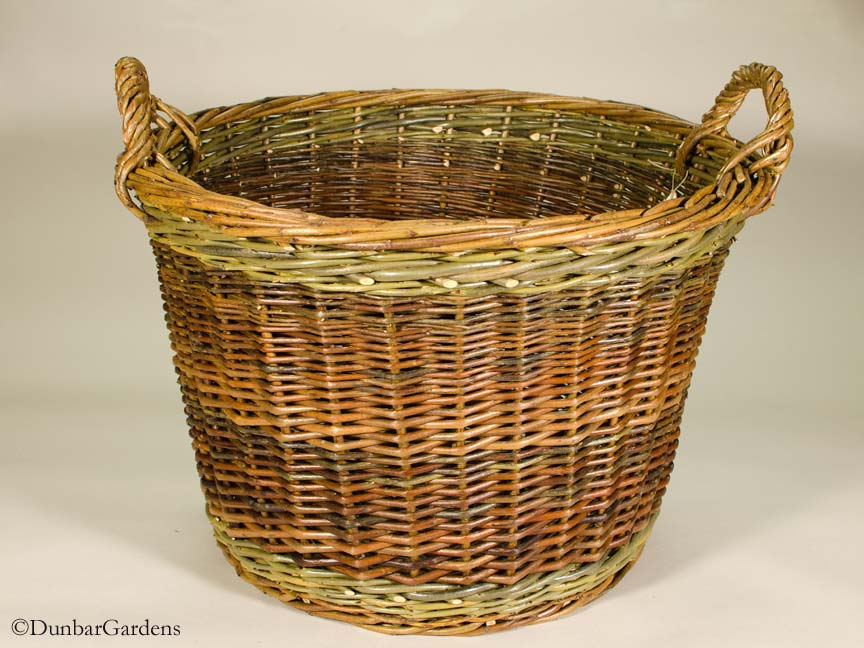 willow basket by Katherine Lewis