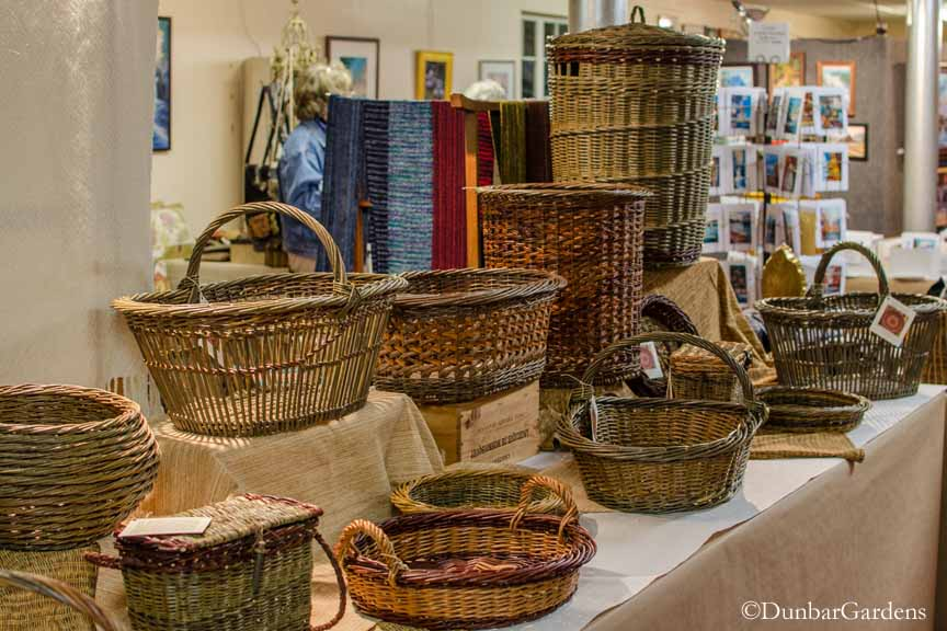 willow baskets by Katherine Lewis