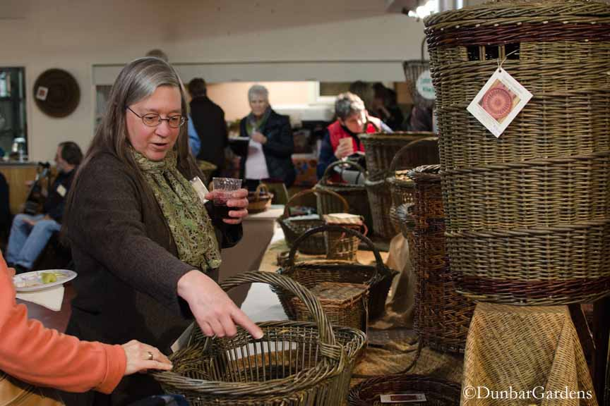 Katherine Lewis, willow basket maker