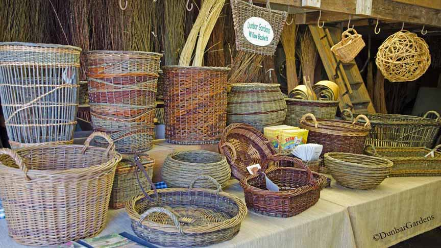 Katherine Lewis willow baskets for sale