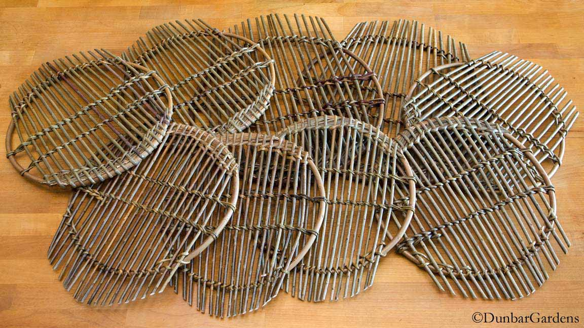 willow trivets by Katherine Lewis