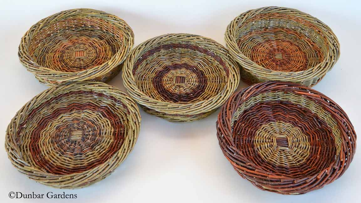willow small fruit baskets by Katherine Lewis