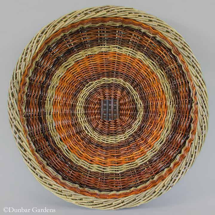 Katherine Lewis large willow Irish potato basket