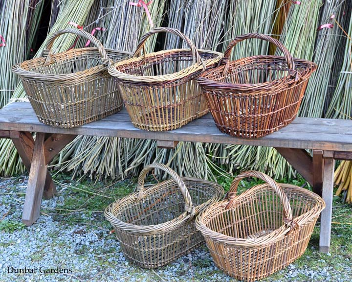 Katherine Lewis willow market baskets